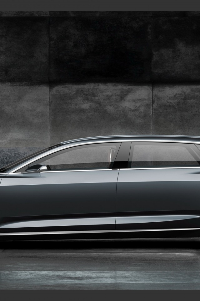 Audi Prologue Side View for 640 x 960 iPhone 4 resolution