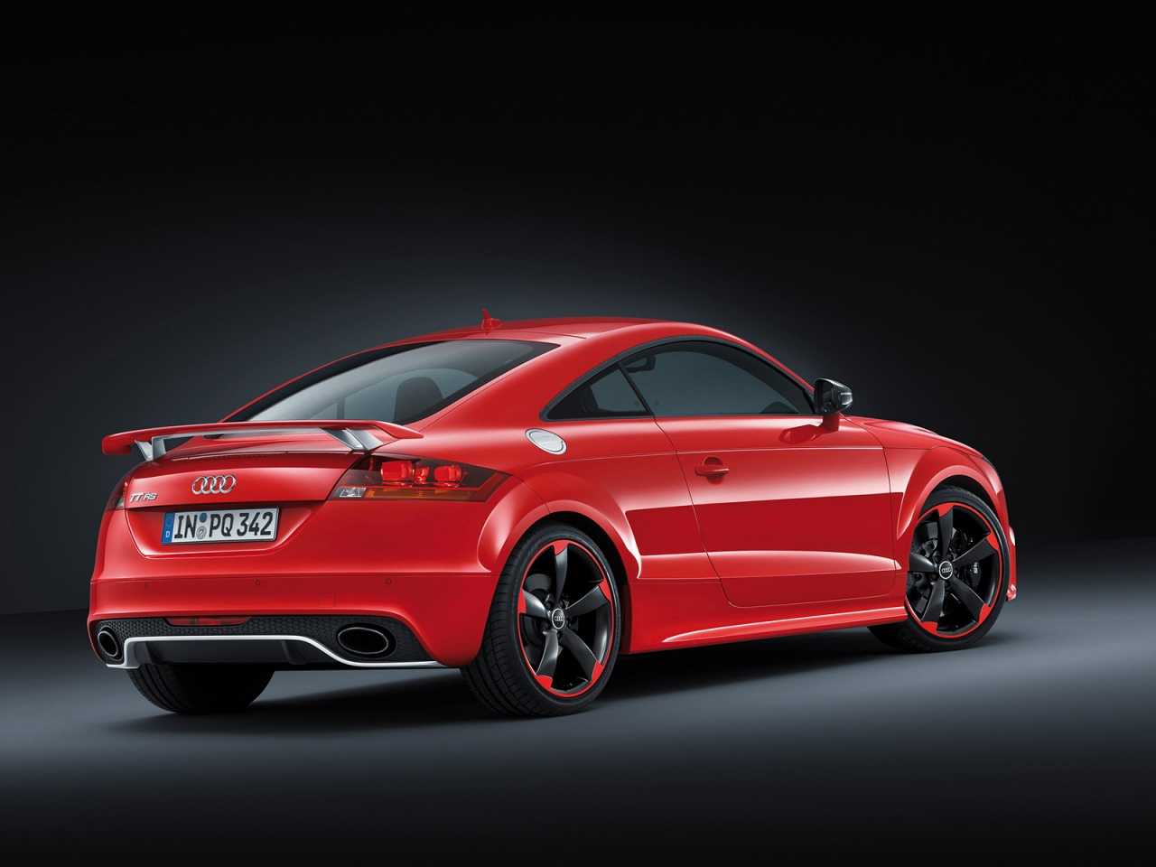 Audi TT RS Plus Rear for 1280 x 960 resolution