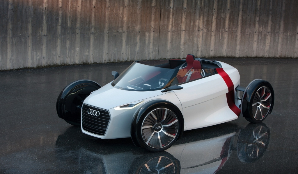 Audi Urban Concept for 1024 x 600 widescreen resolution