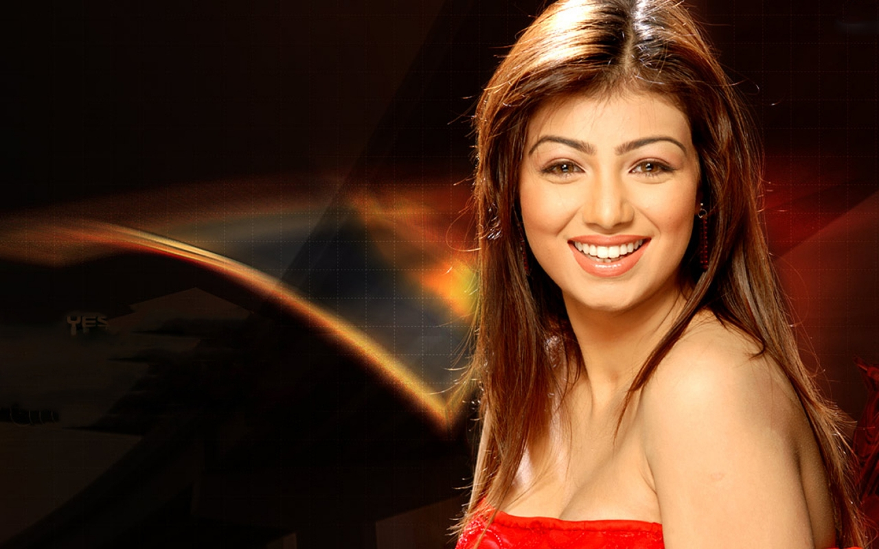 Ayesha Takia Smile for 1280 x 800 widescreen resolution