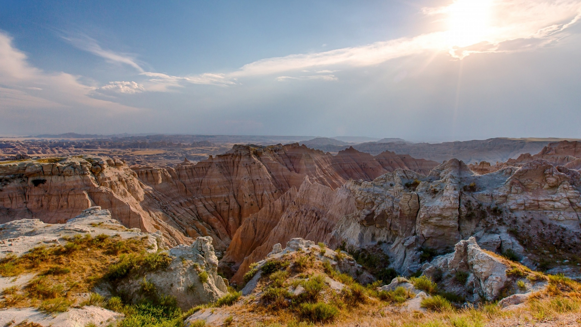 Badlands National Park  for 1920 x 1080 HDTV 1080p resolution