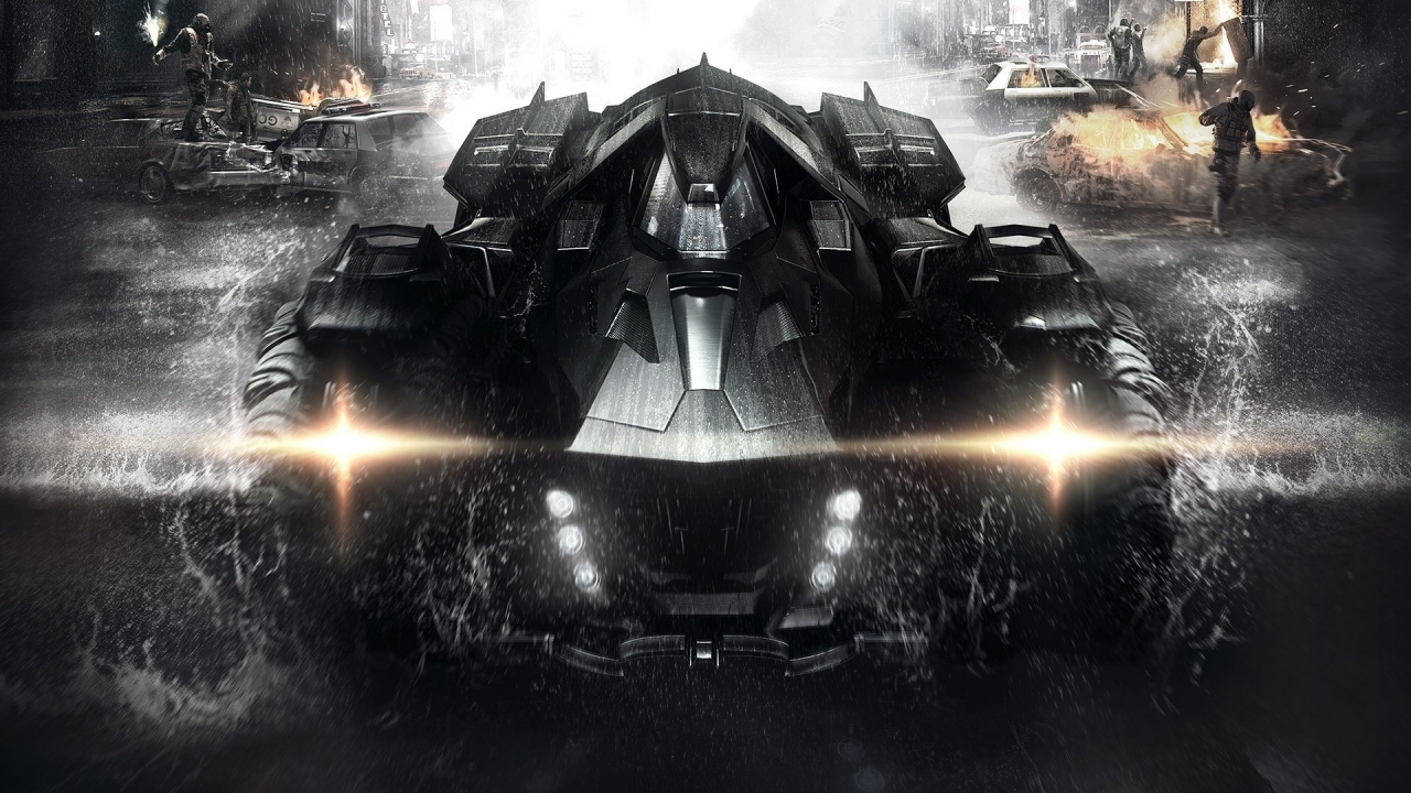 Batmobile for 1280 x 720 HDTV 720p resolution