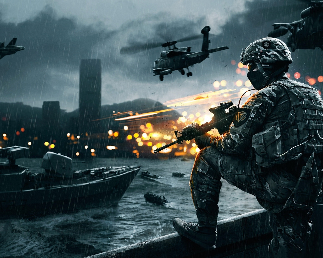 Battlefield 4 Siege of Shanghai for 1280 x 1024 resolution