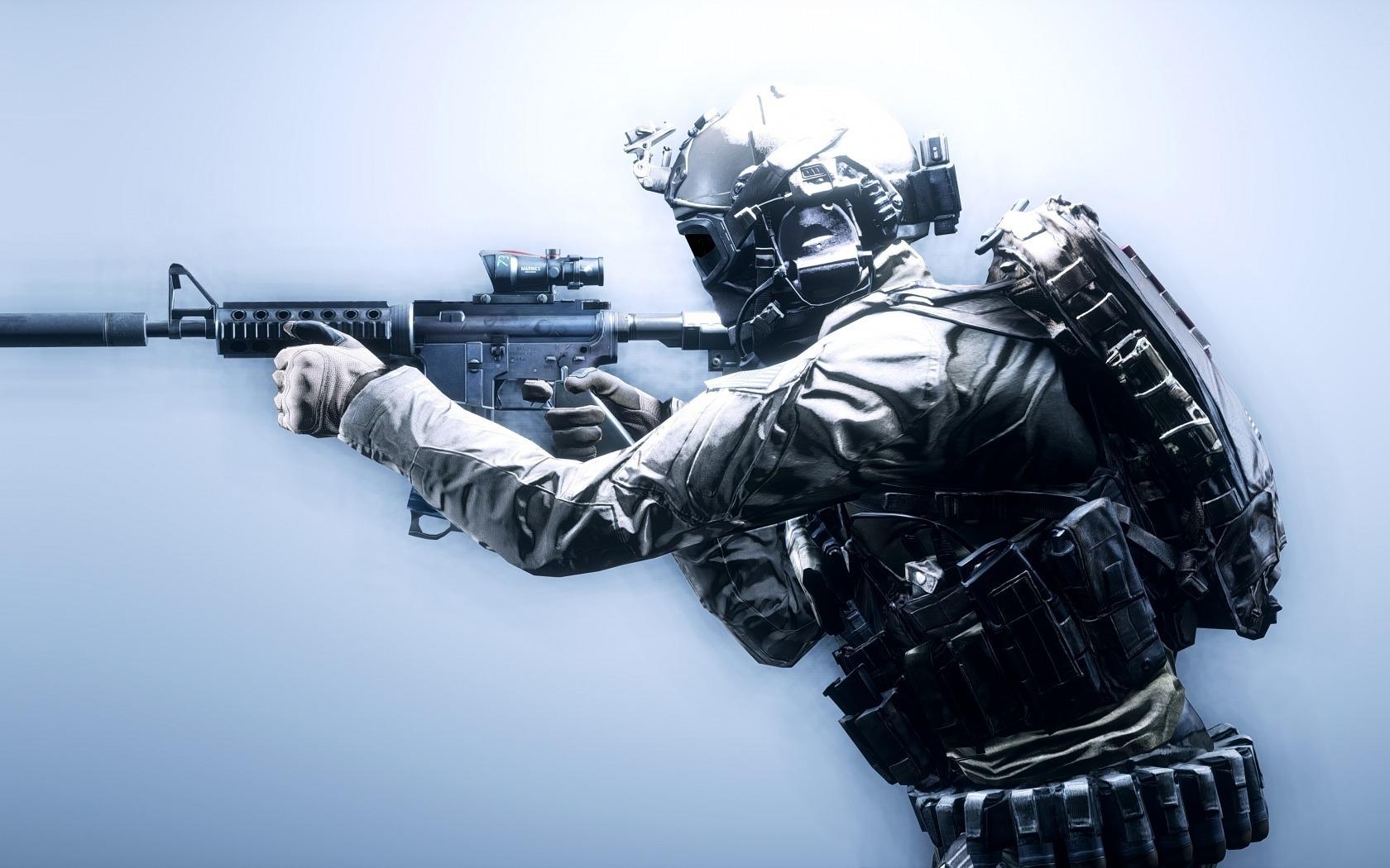 Battlefield 4 Soldier Hd Wallpaper Wallpaperfx