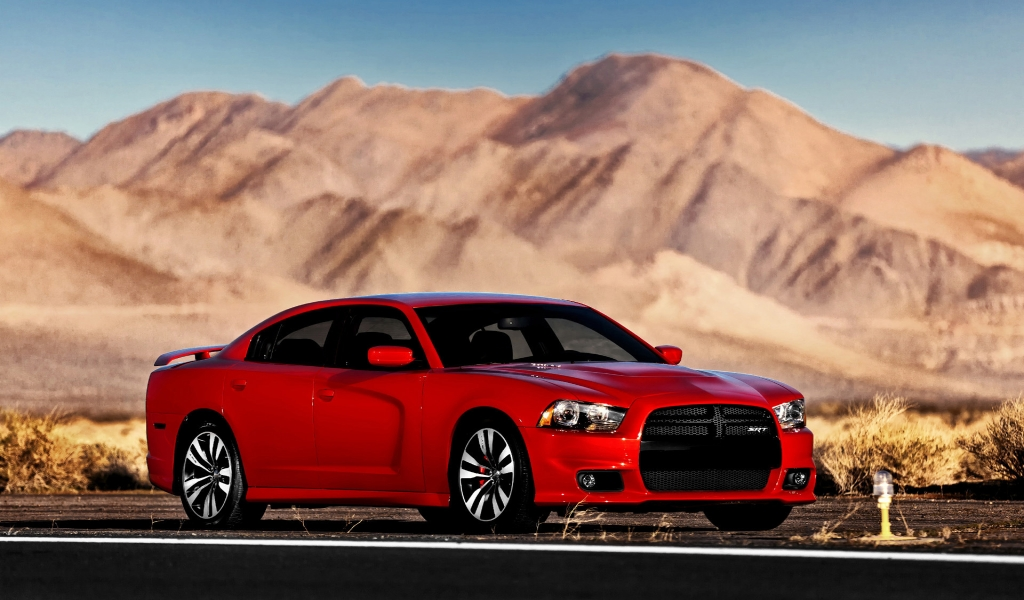 Beautiful Dodge Charger SRT8 for 1024 x 600 widescreen resolution