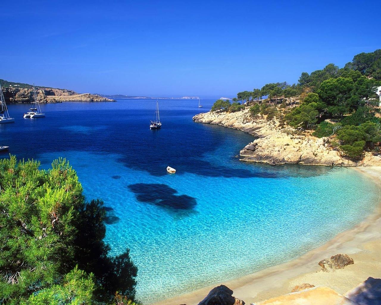 Beautiful sea landscape for 1280 x 1024 resolution