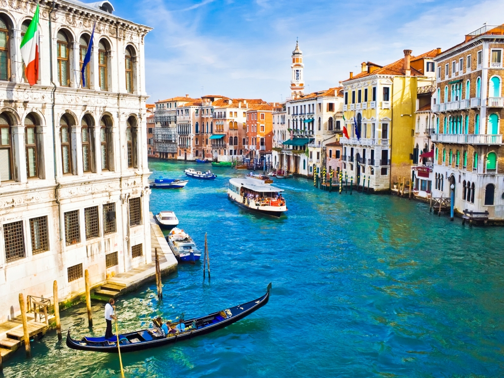 Beautiful Venice for 1024 x 768 resolution