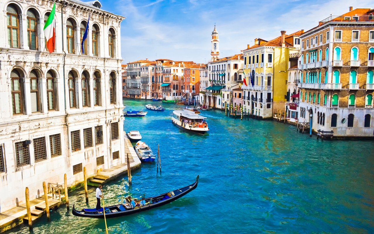 Beautiful Venice for 1280 x 800 widescreen resolution