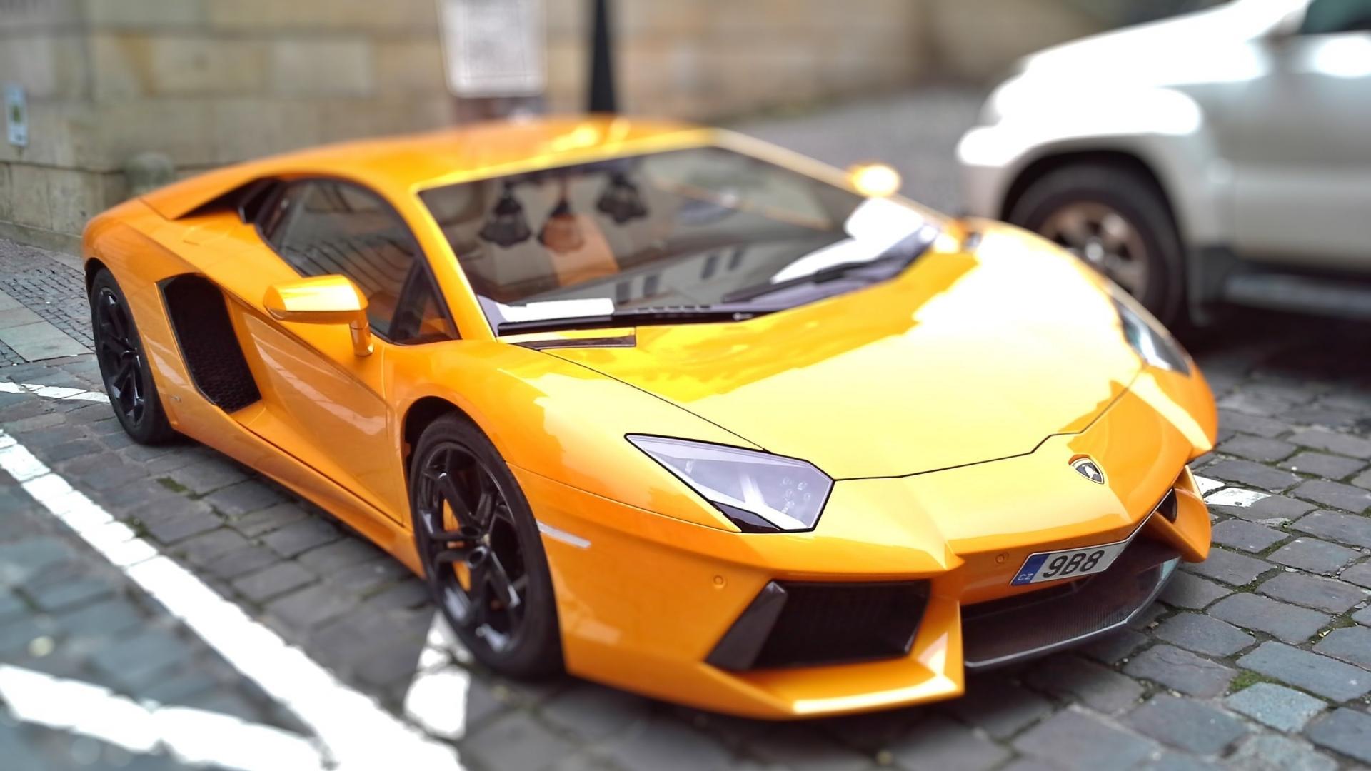 Beautiful Yellow Lamborghini 1920 X 1080 Hdtv 1080p Wallpaper