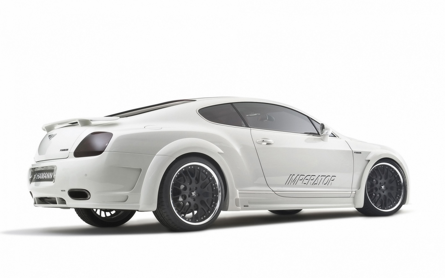 Bentley Continental GT Hamann Imperator Rear for 1440 x 900 widescreen resolution