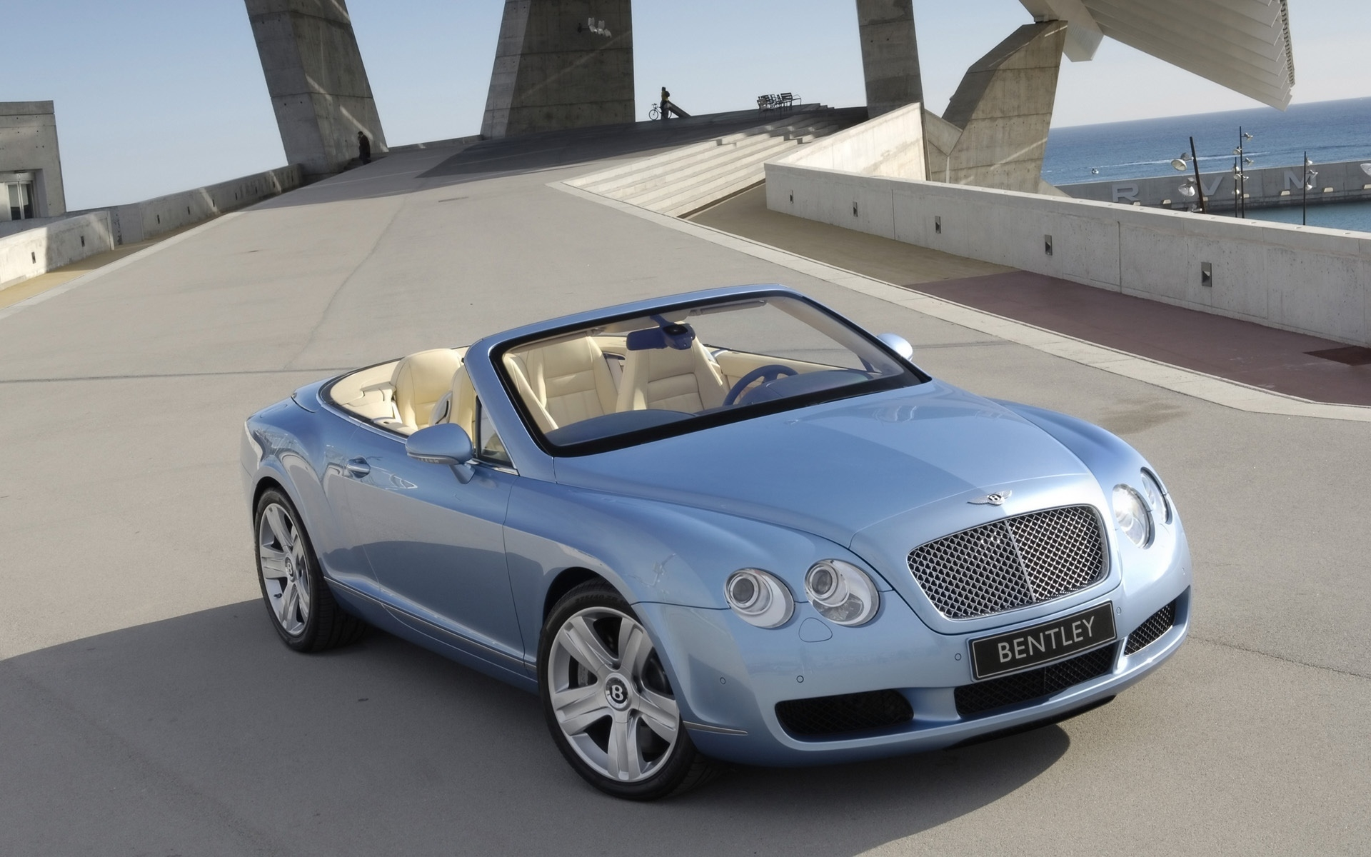 Bentley Continental GTC 2007 for 1920 x 1200 widescreen resolution