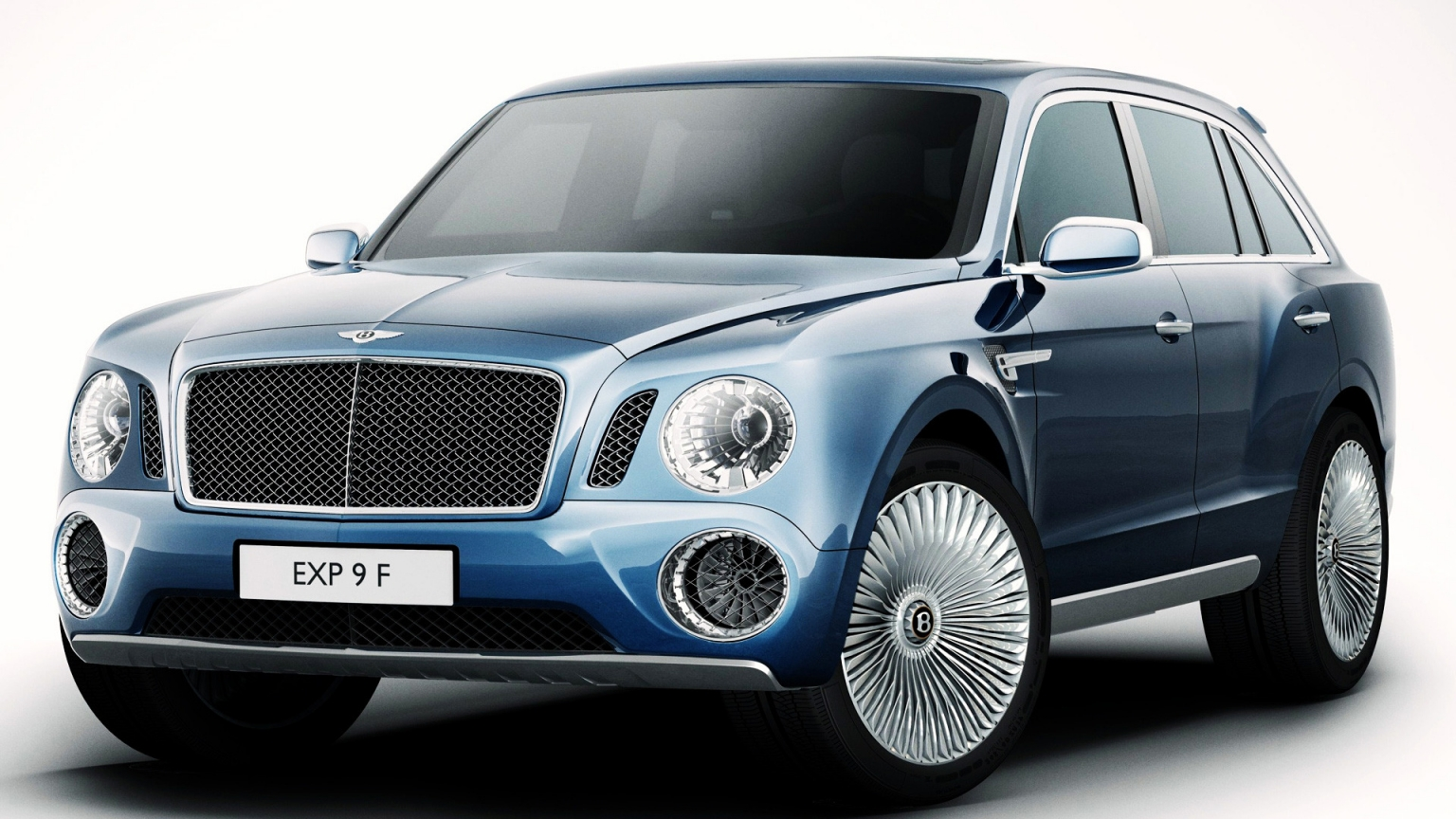 Bentley SUV 2012 Geneva for 1536 x 864 HDTV resolution