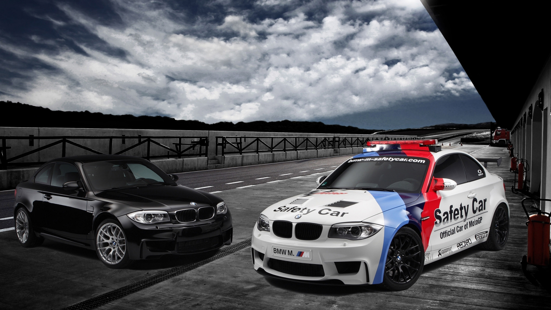 BMW 1 Series M Coupe Safety Car 1920 x 1080 HDTV 1080p ...