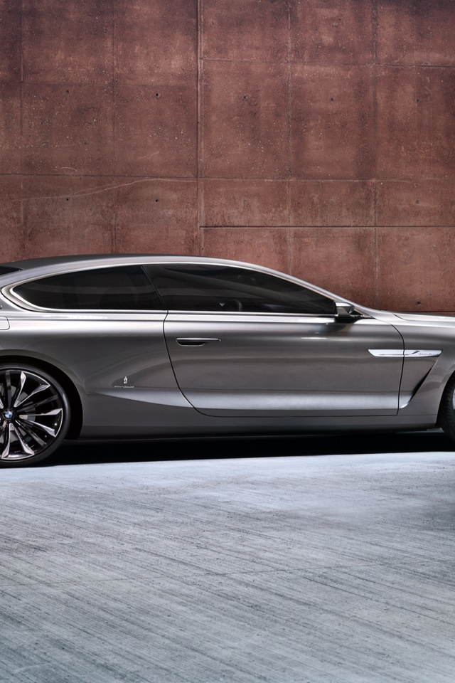 BMW Gran Lusso Coupe 2013 for 640 x 960 iPhone 4 resolution