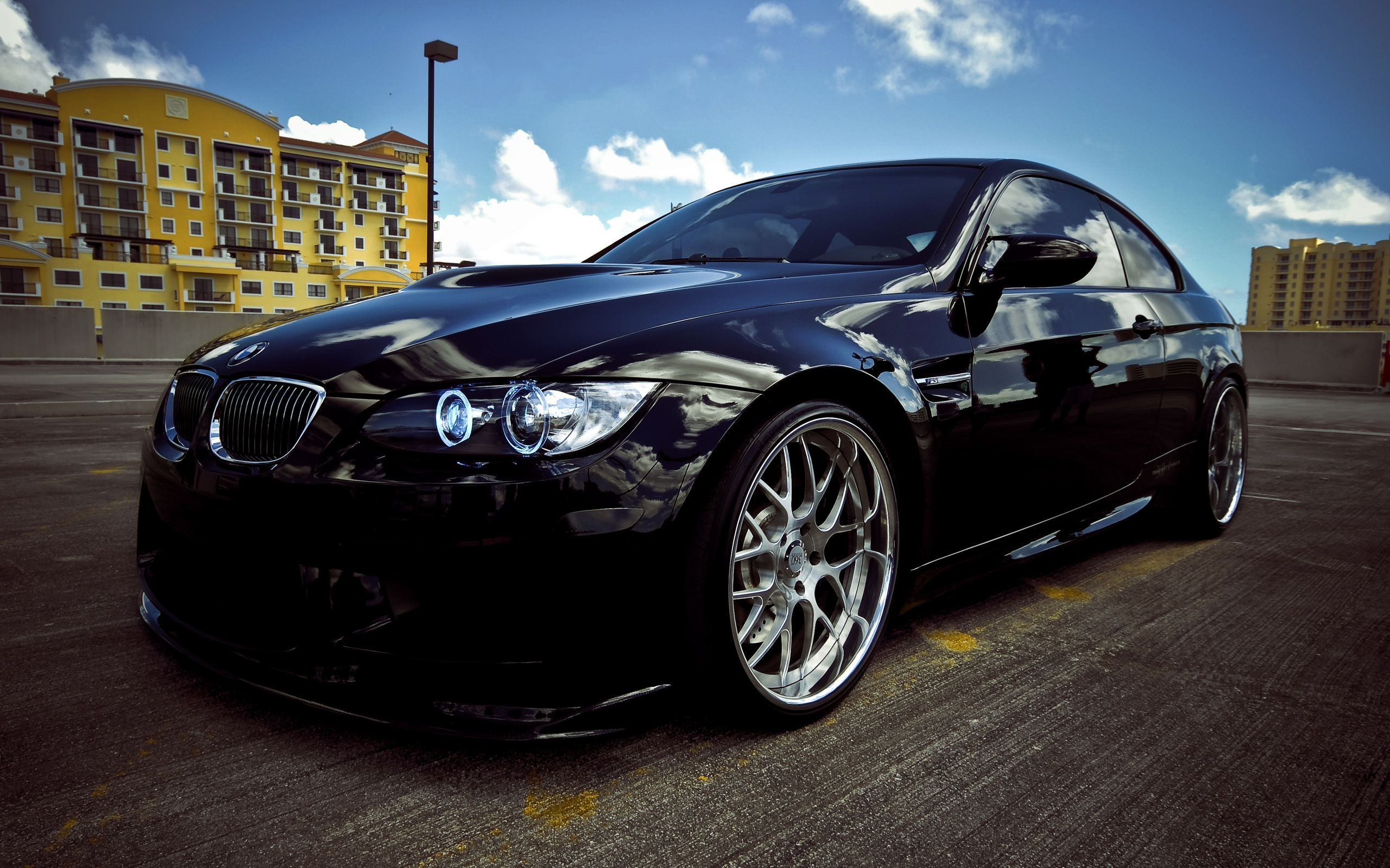 BMW M3 2010 Black for 2560 x 1600 widescreen resolution