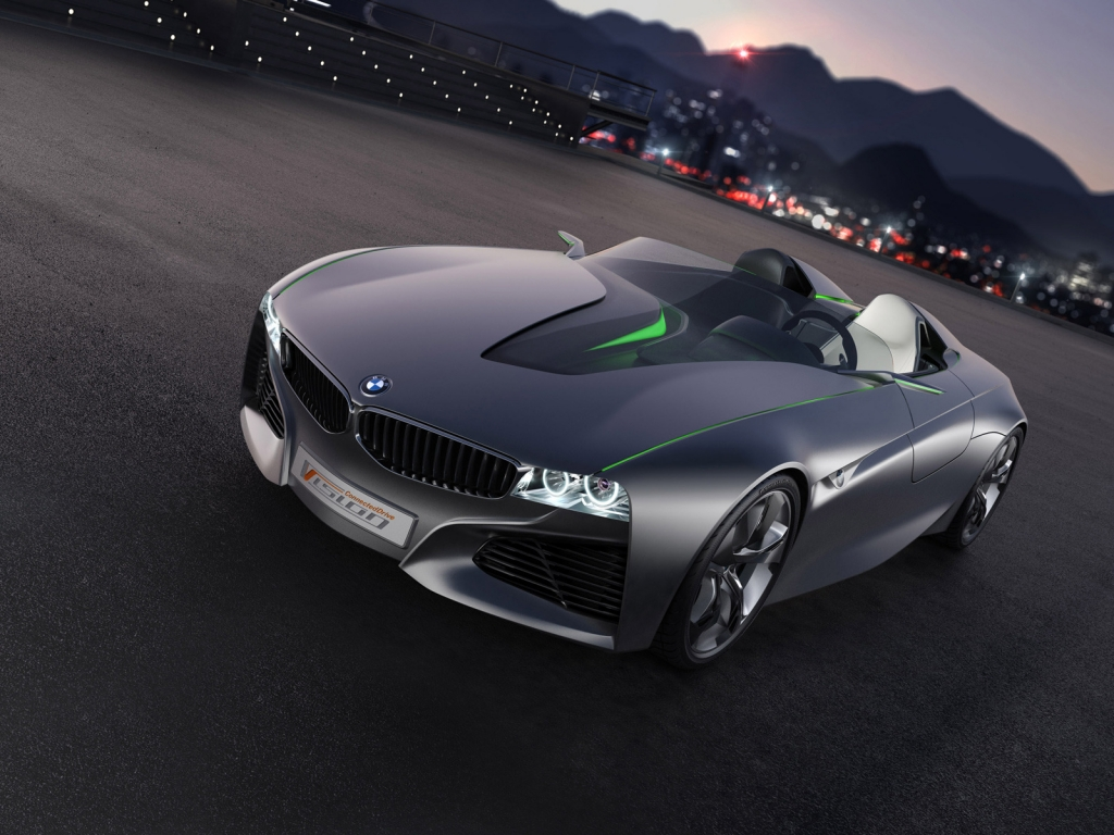 BMW Vision Connected Drive Concept for 1024 x 768 resolution