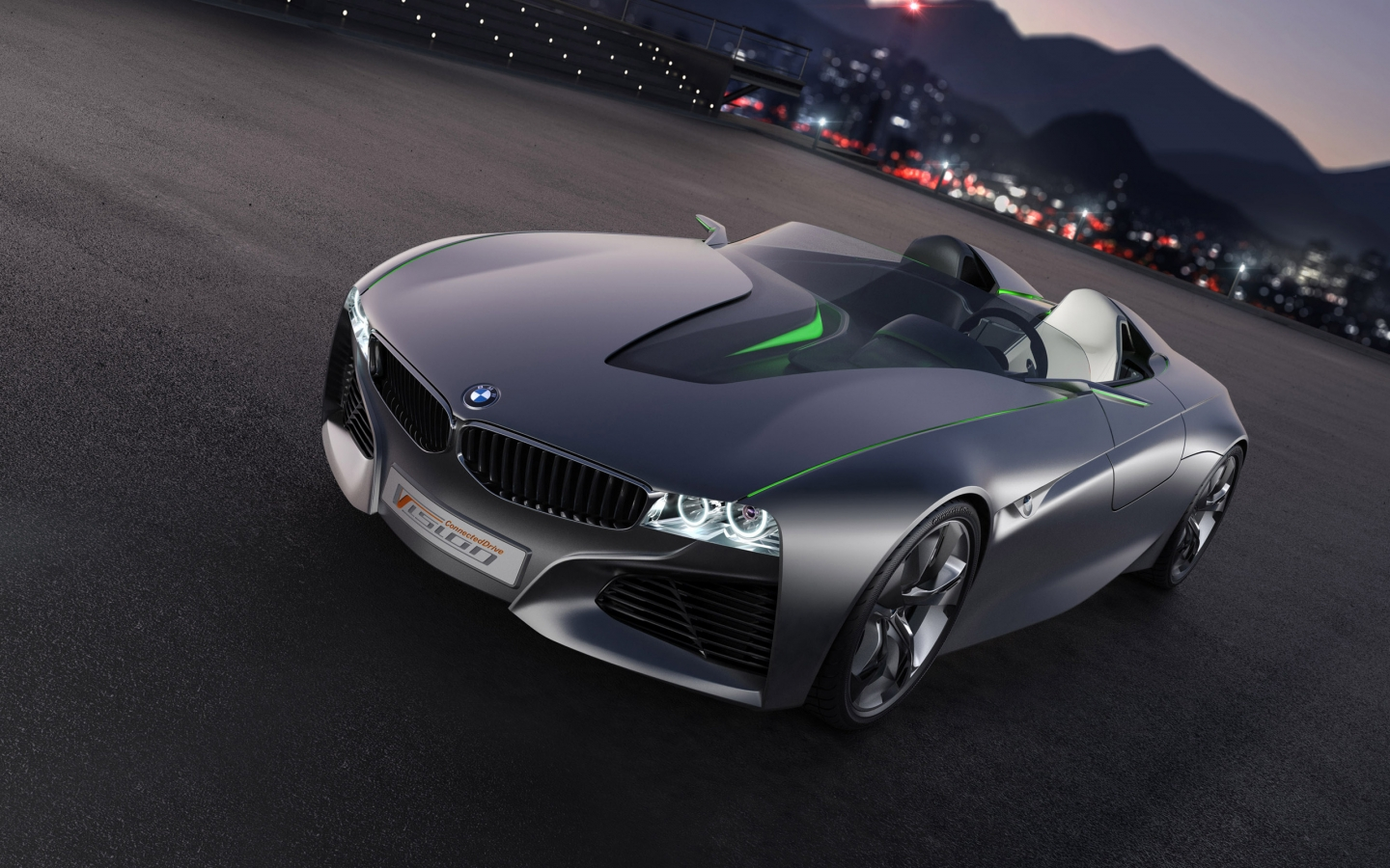 BMW Vision Connected Drive Concept for 1440 x 900 widescreen resolution