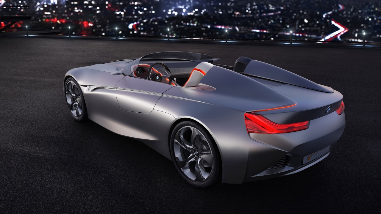 BMW Vision Connected Drive Concept 2011 for 1280 x 720 HDTV 720p resolution
