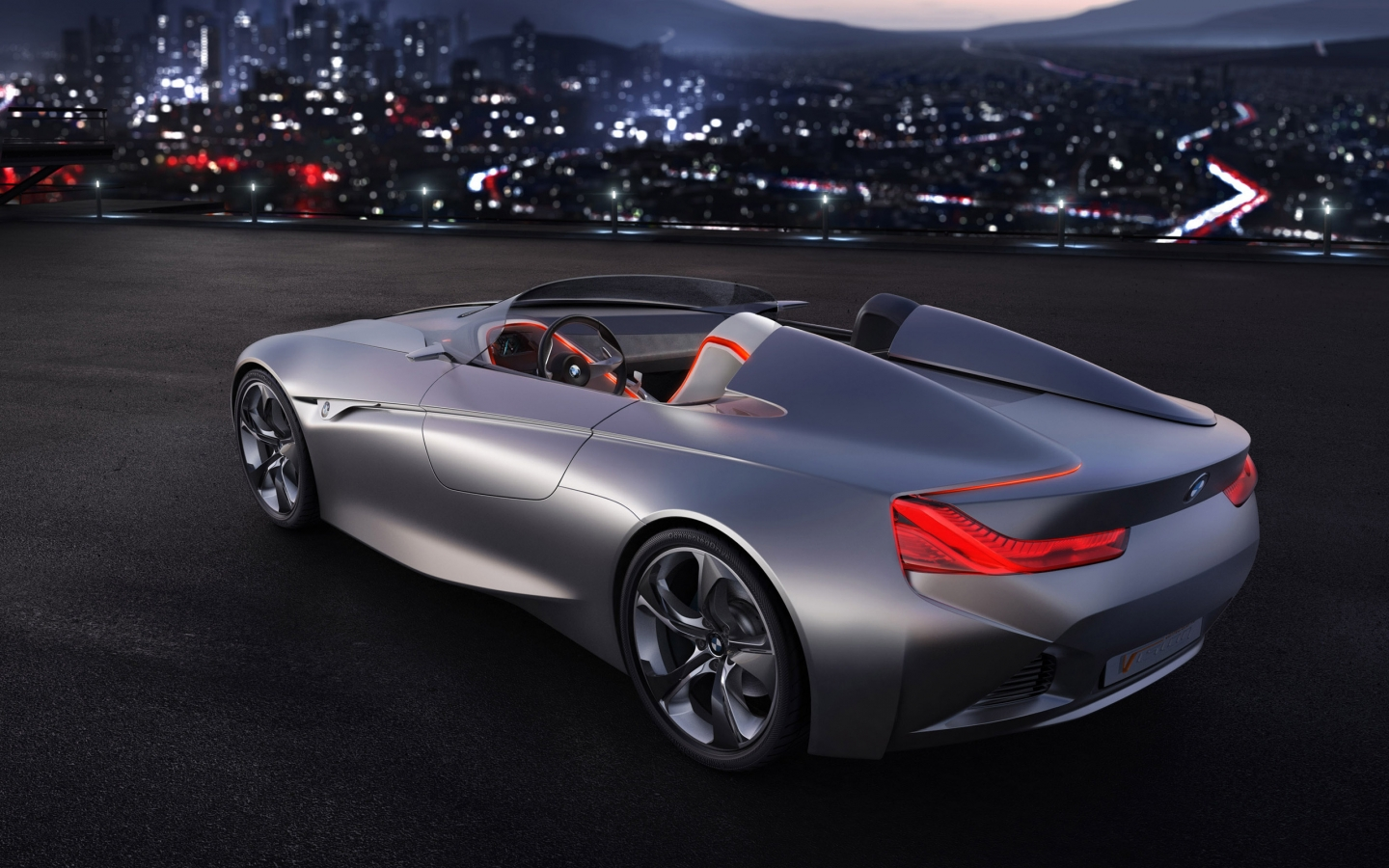 BMW Vision Connected Drive Concept 2011 for 1440 x 900 widescreen resolution