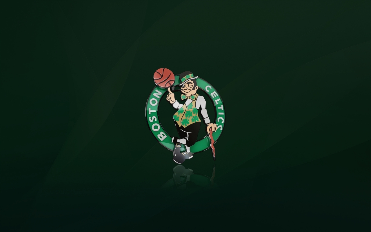 Boston Celtics Logo for 1280 x 800 widescreen resolution