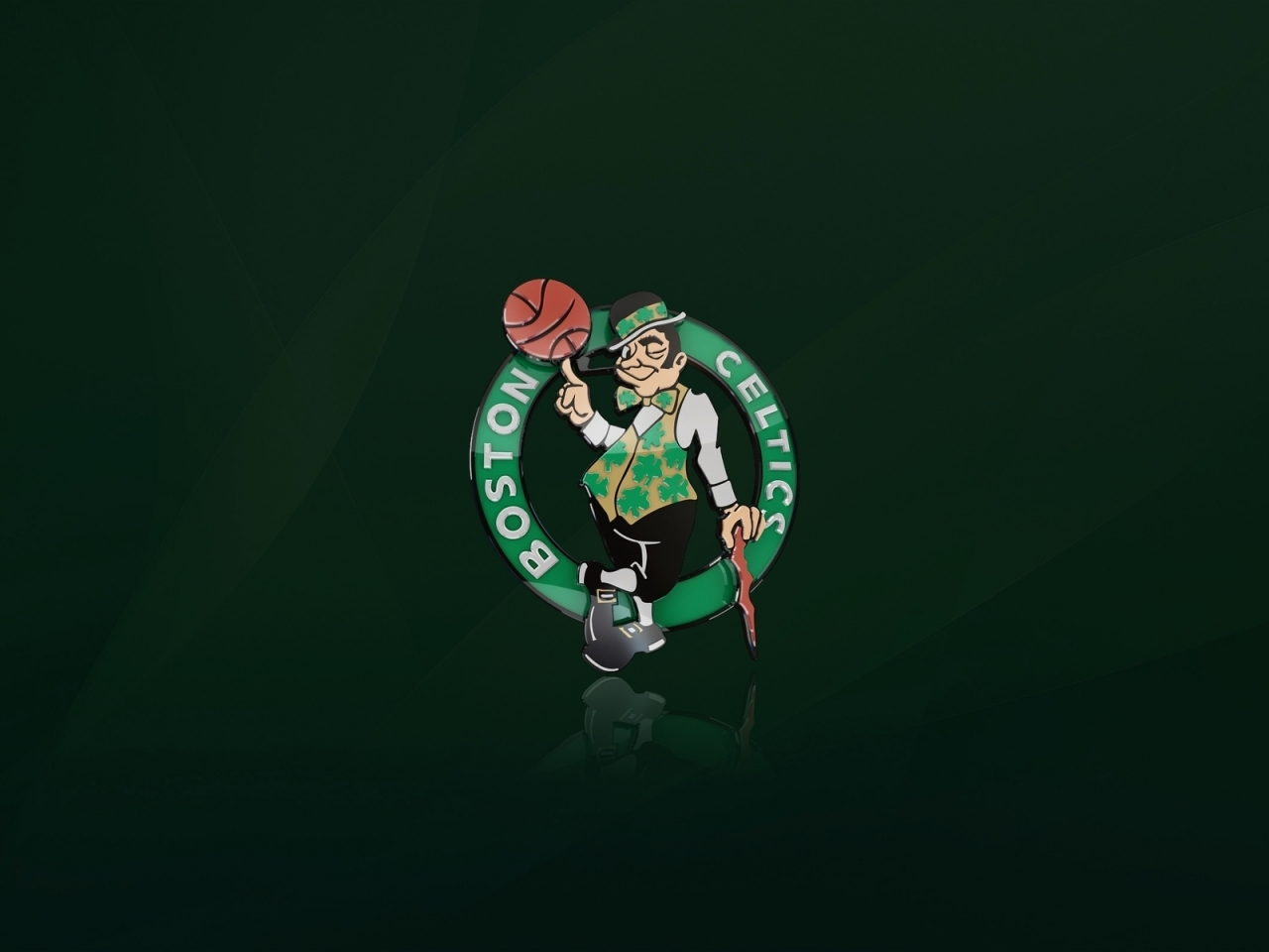 Boston Celtics Logo for 1280 x 960 resolution
