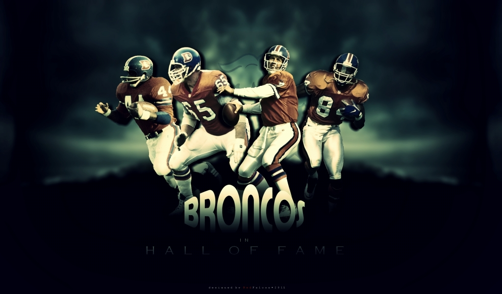 Broncos Hall of Fame for 1024 x 600 widescreen resolution