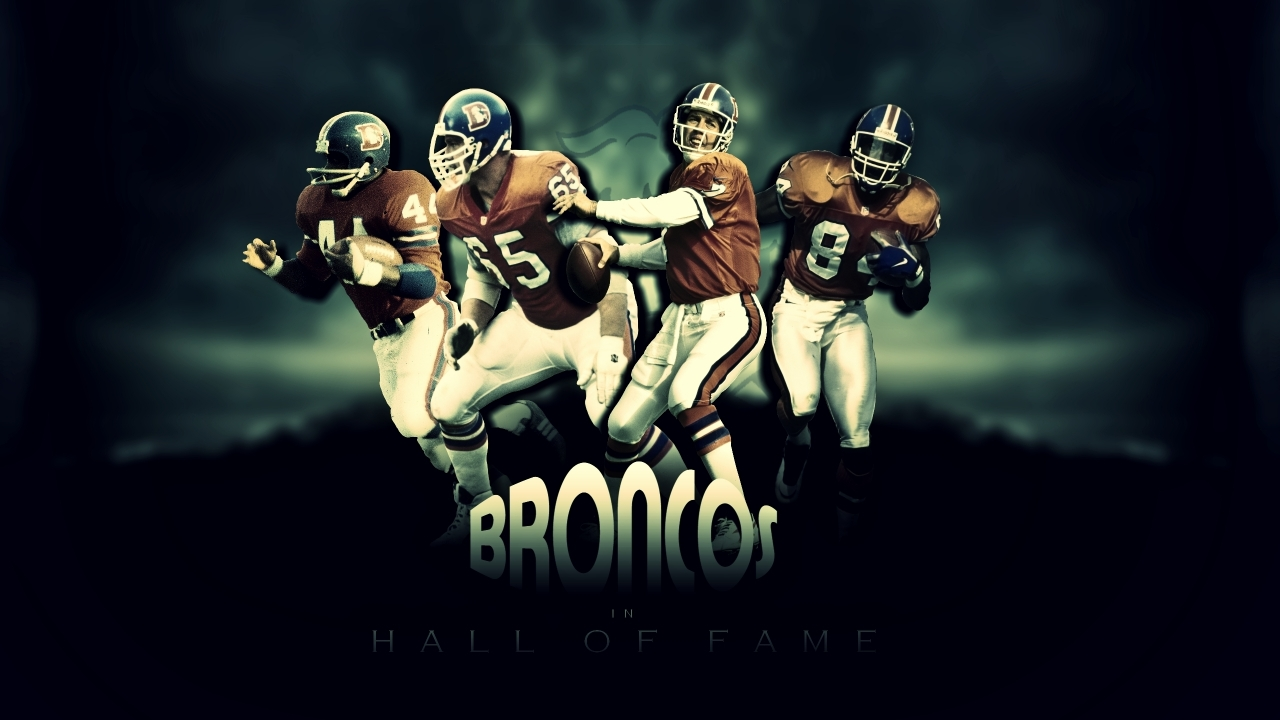 Broncos Hall of Fame for 1280 x 720 HDTV 720p resolution