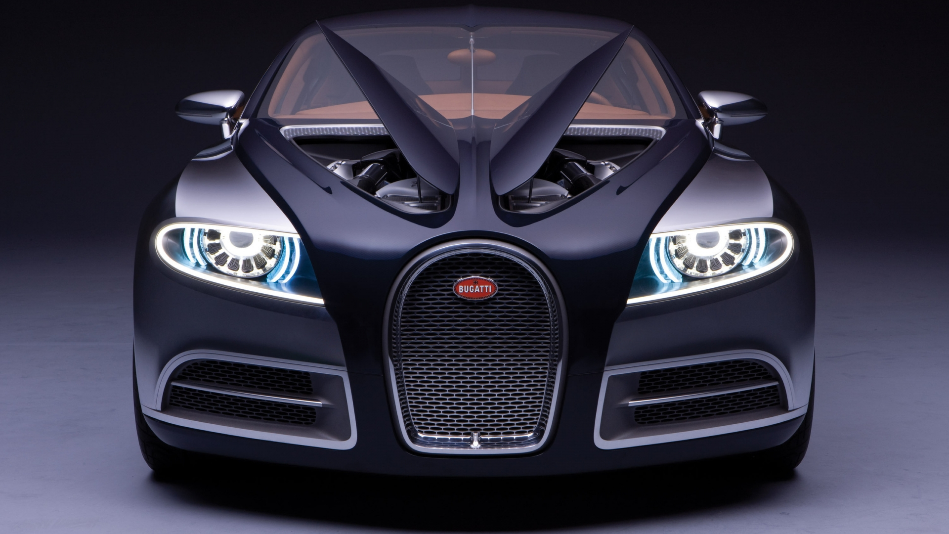 Bugatti SuperVeyron for 1920 x 1080 HDTV 1080p resolution