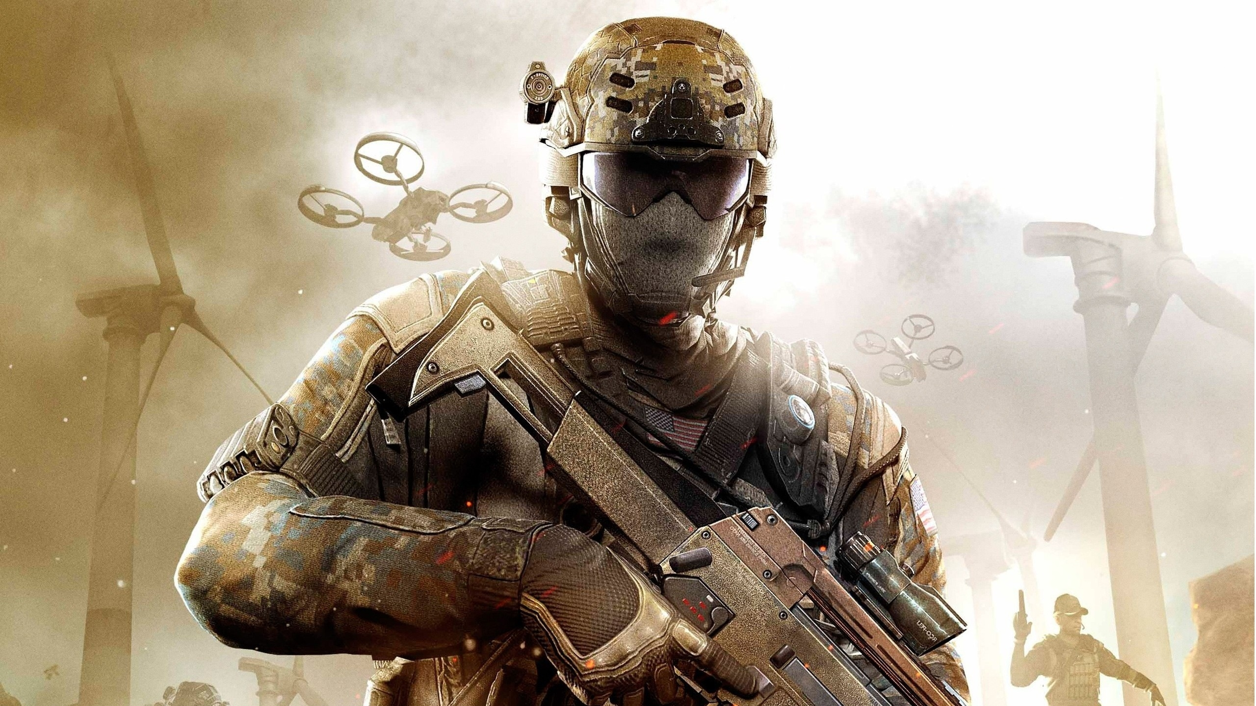 Call Of Duty Black Ops 2 Soldier 2560x1440 Hdtv Wallpaper