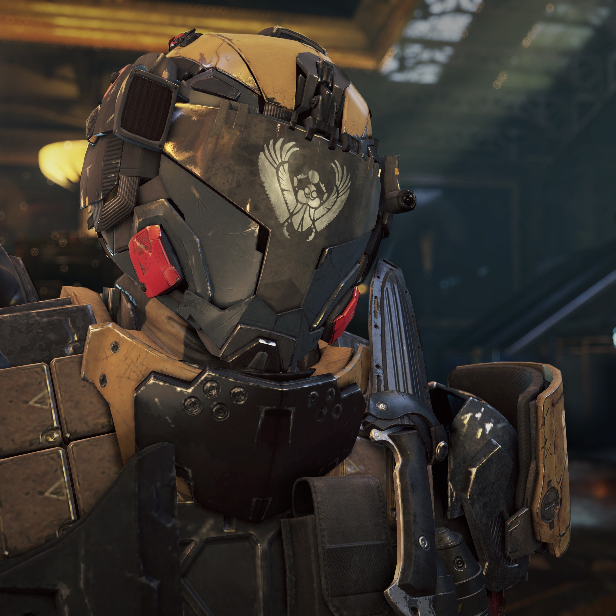 Call Of Duty Black Ops 3 Ramses Station Armored Guard Hd Wallpaper