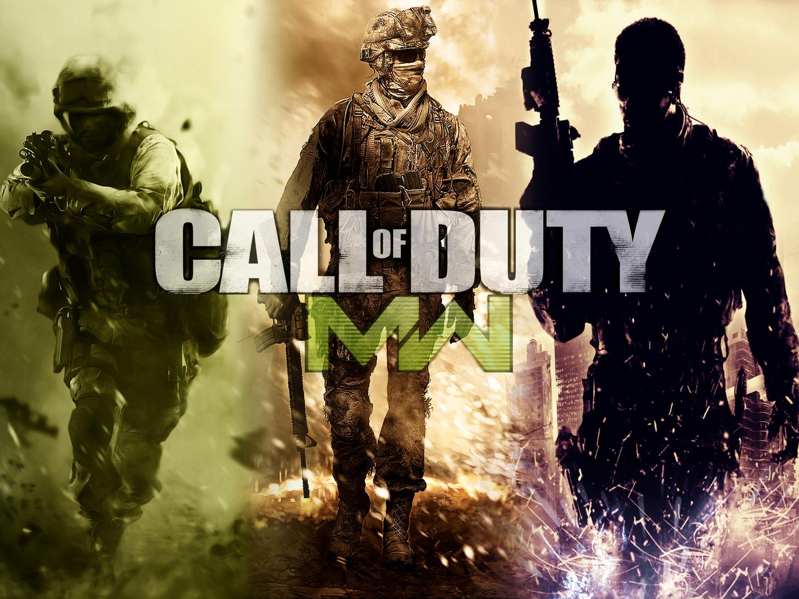 Call Of Duty Modern Warfare Poster Hd Wallpaper Wallpaperfx