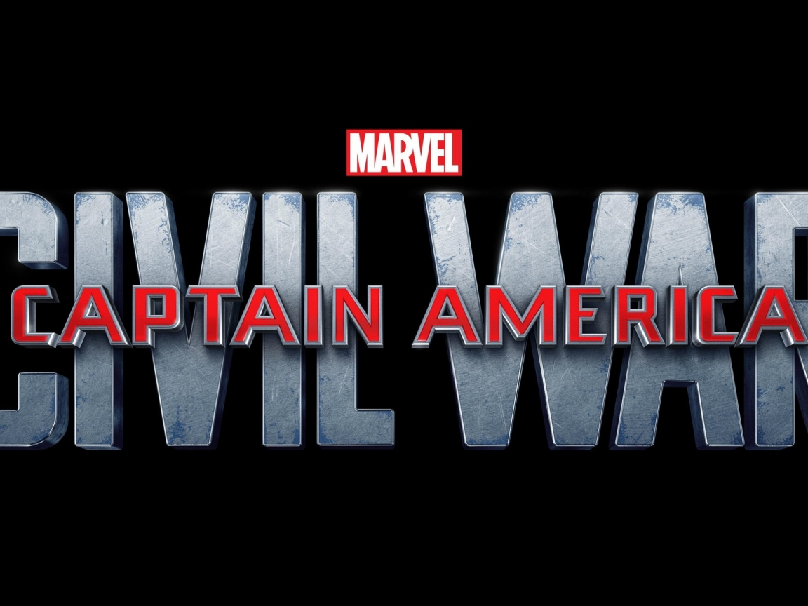 Captain America Civil War Logo for 1152 x 864 resolution