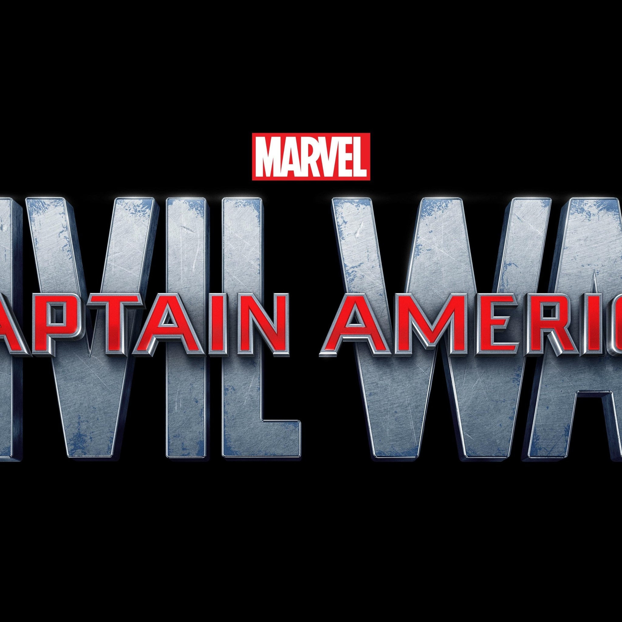 Captain America Civil War Logo for 2048 x 2048 New iPad resolution