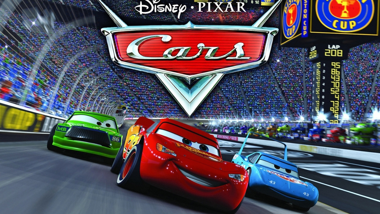 Cars on Track for 1280 x 720 HDTV 720p resolution