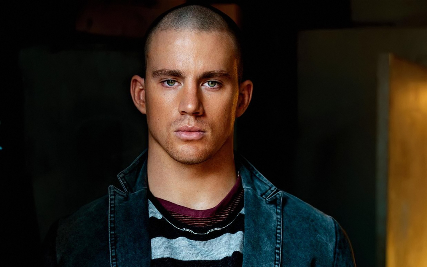 Channing Tatum Beautiful Eyes for 1440 x 900 widescreen resolution