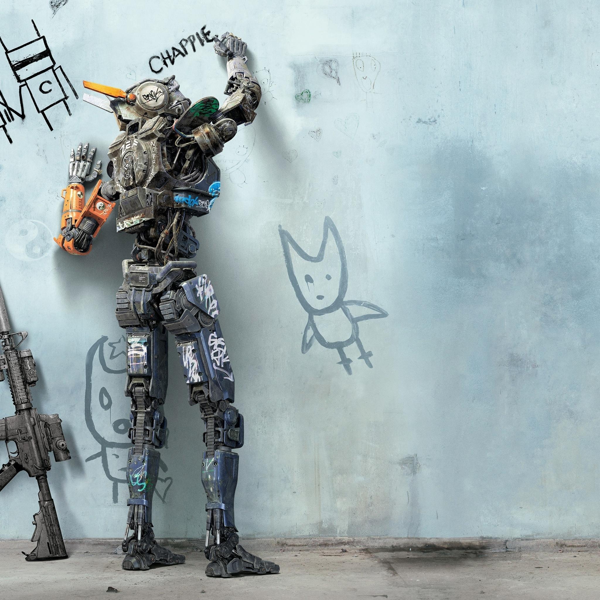 Фильм робот по имени чаппи постеры