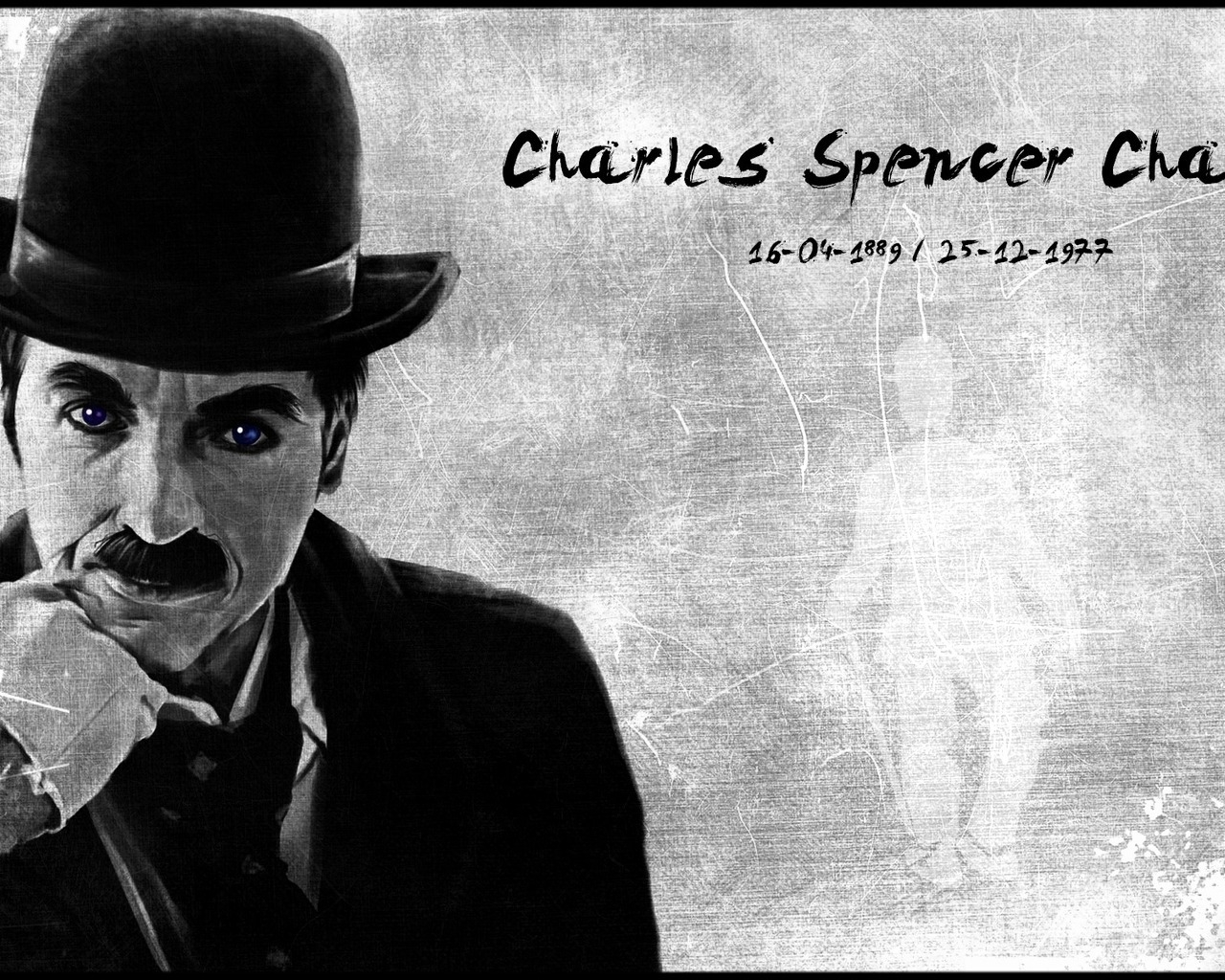 Charles Chaplin for 1280 x 1024 resolution