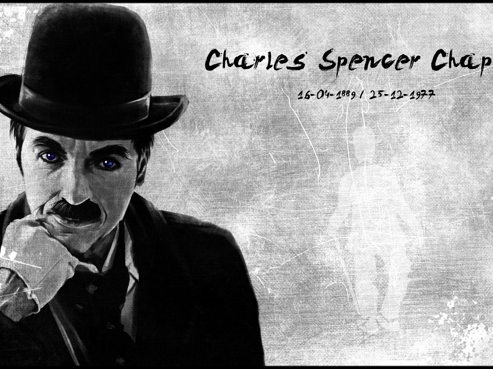 Charles Chaplin for 1600 x 1200 resolution