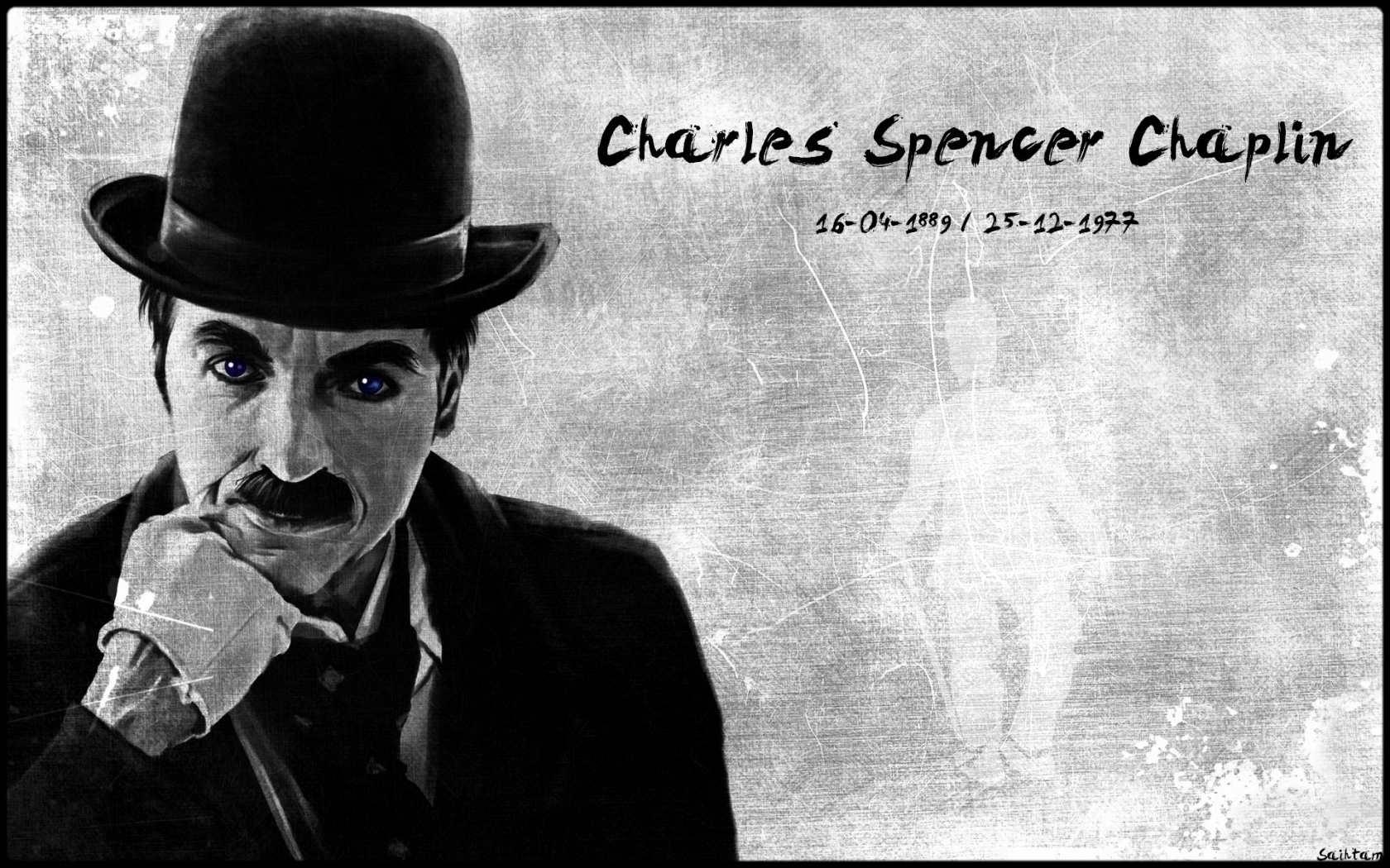 Charles Chaplin for 1680 x 1050 widescreen resolution