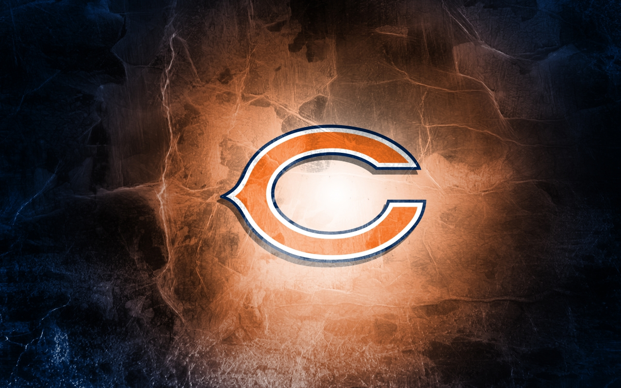 Chicago Bears Logo for 1280 x 800 widescreen resolution
