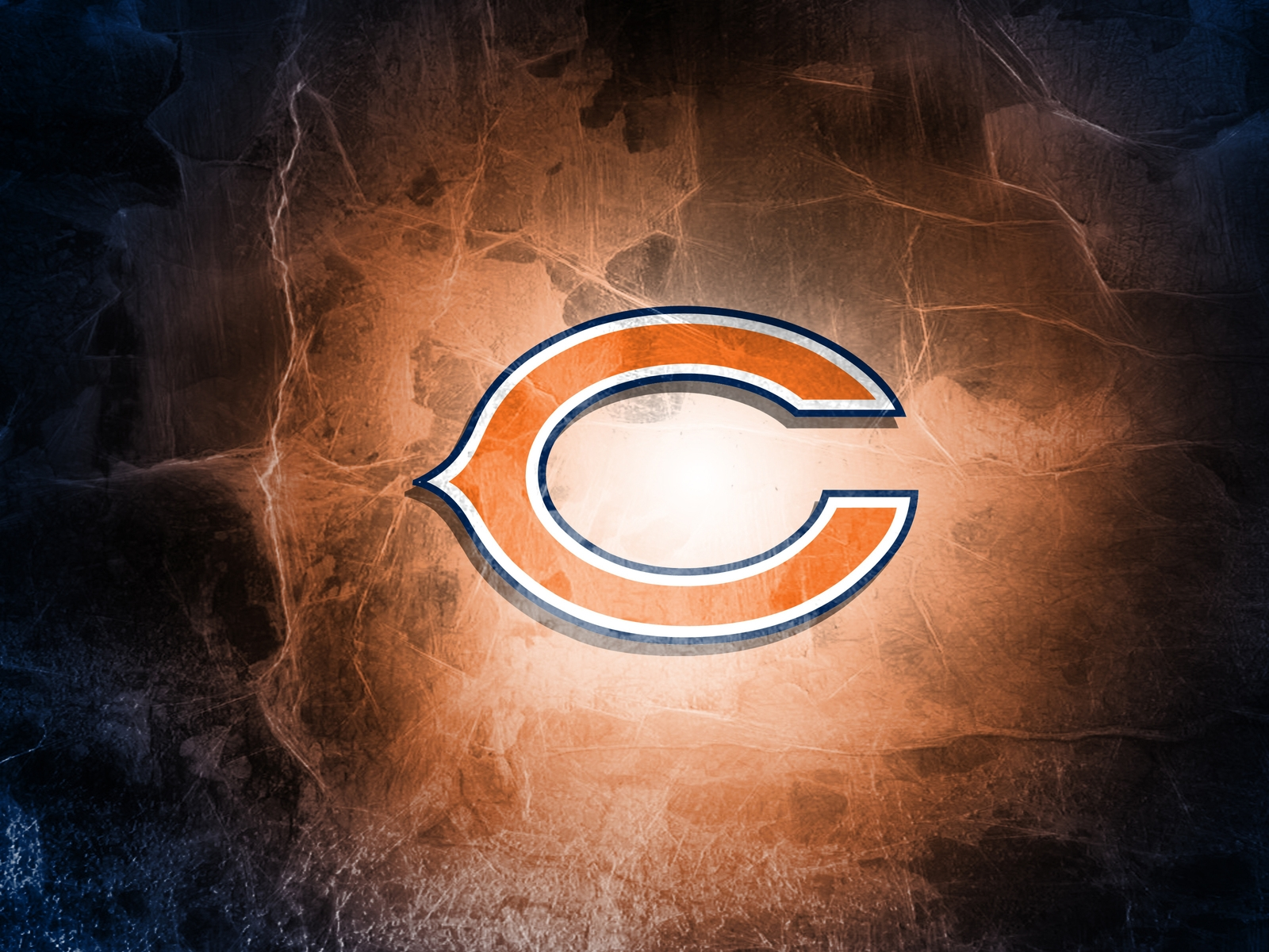 Chicago Bears Logo for 1600 x 1200 resolution