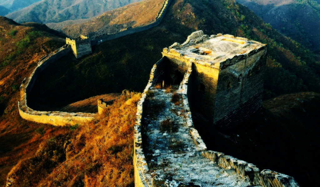 China big Wall for 1024 x 600 widescreen resolution