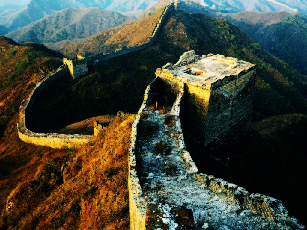 China big Wall for 1024 x 768 resolution