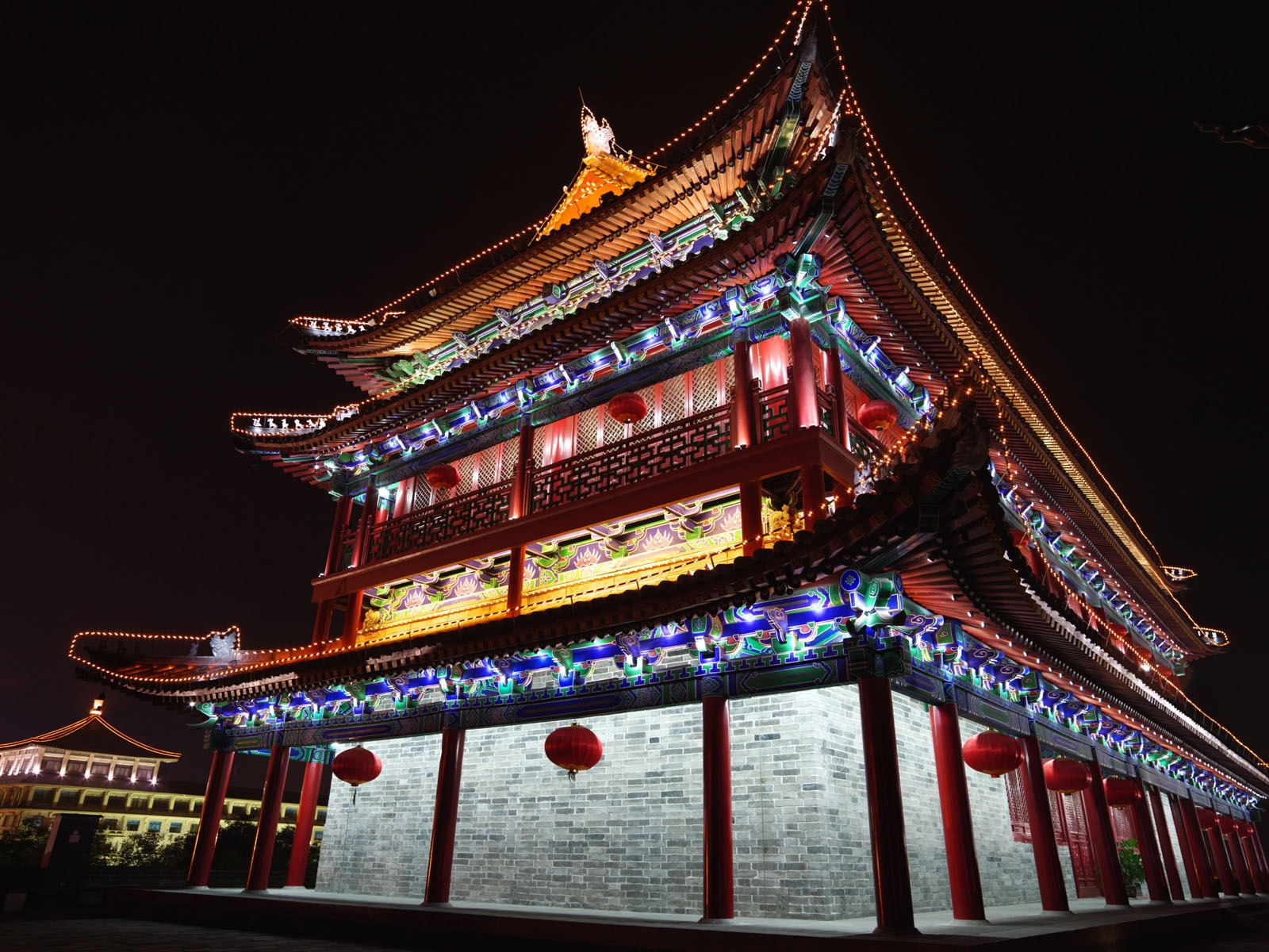 Chinese Architecture for 1600 x 1200 resolution