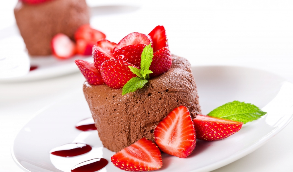 Chocolate Mousse for 1024 x 600 widescreen resolution