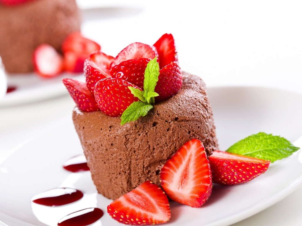 Chocolate Mousse for 1024 x 768 resolution