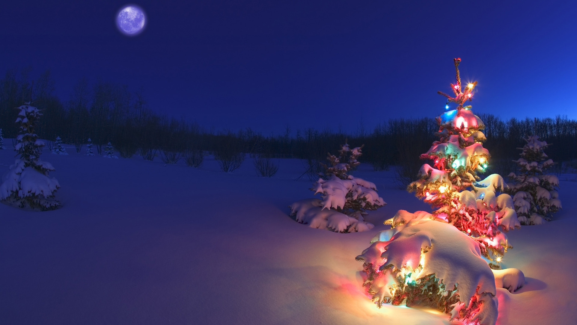 Christmas Tree for 1920 x 1080 HDTV 1080p resolution