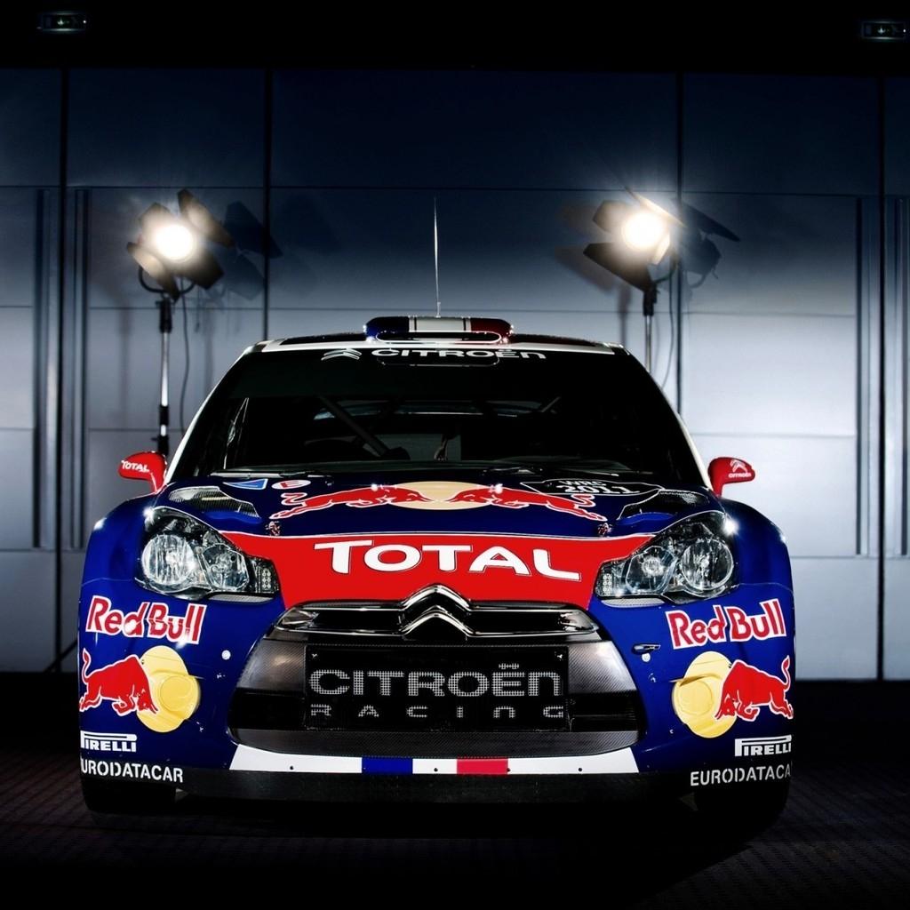 Citroen Racing 1024 X 1024 IPad Wallpaper