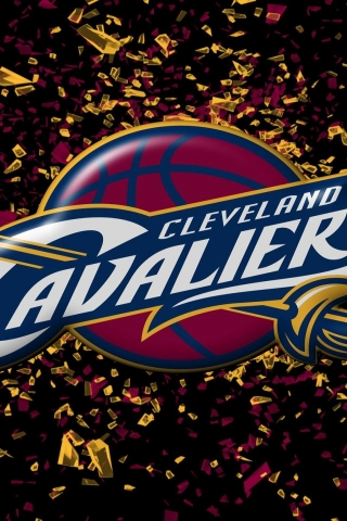 Cleveland Cavaliers for 320 x 480 iPhone resolution