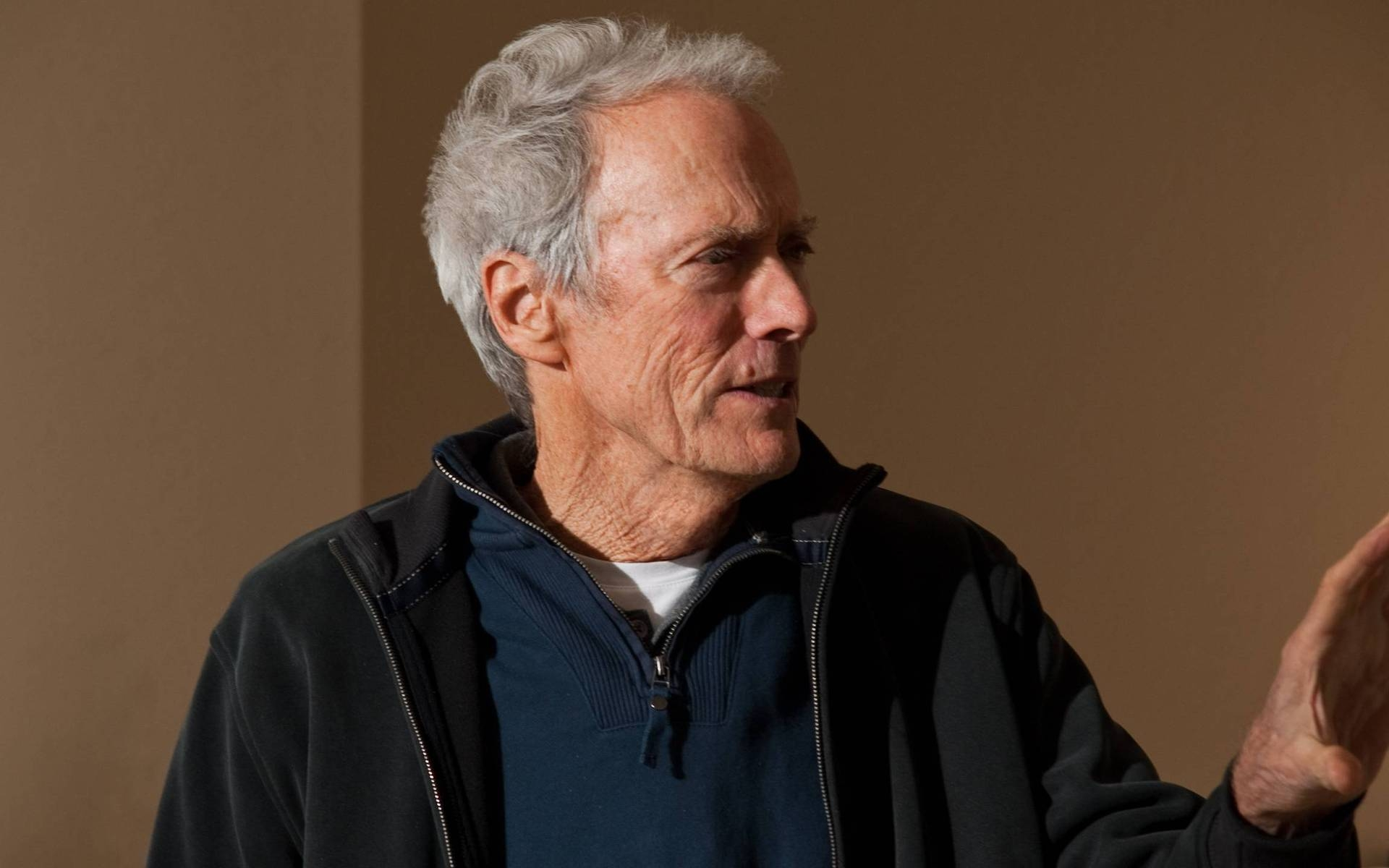 Clint Eastwood Close-Up for 1920 x 1200 widescreen resolution